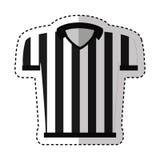 Referee shirt uniform icon Royalty Free Stock Photography