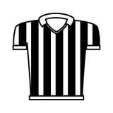 Referee shirt uniform icon Stock Image