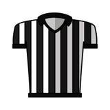 Referee shirt uniform icon Royalty Free Stock Image