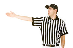Referee: Signalling a First Down Stock Image