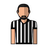 Referee sport avatar character Royalty Free Stock Photography