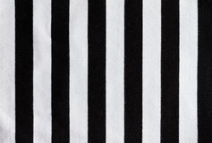 Referee stripes Stock Photography