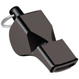Referee whistle Royalty Free Stock Image