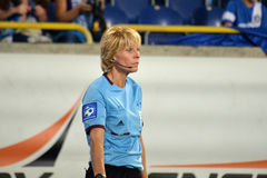 Referee woman Royalty Free Stock Images