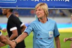 Referee women Royalty Free Stock Image