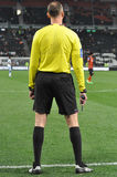 Referees back Stock Photography
