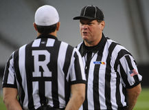 Referees For High School stock images