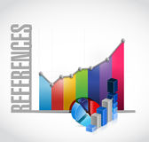 references business graph sign concept Royalty Free Stock Image