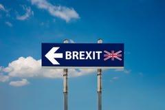 Referendo de Brexit Foto de Stock