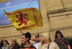 Referendo 2014 de Indy do Scottish do cargo Imagens de Stock Royalty Free