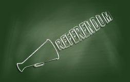 referendum stock afbeelding