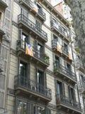 Referendum di Barcellona fotografia stock