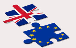Referendum di UE dentro Immagine Stock Libera da Diritti