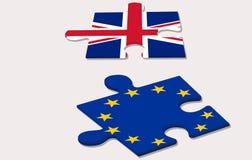 Referendum di UE dentro Fotografia Stock Libera da Diritti