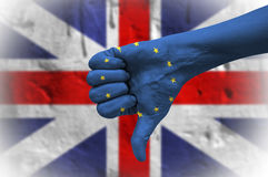 Referendum on United Kingdom membership of the European Union. Stock Photography