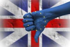 Referendum on United Kingdom membership of the European Union. Stock Photography
