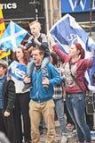 Referendumtag in Inverness Lizenzfreie Stockfotos