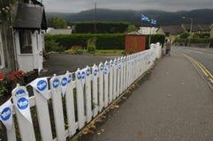 Referéndum 2014 de Indy del escocés Fotografía de archivo