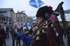 Referéndum escocés 2014 de la independencia Imagenes de archivo