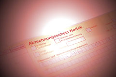Referral form stock images