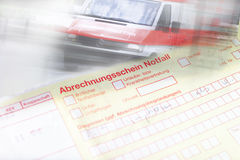Referral form Stock Image