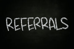 Referrals Concept Royalty Free Stock Image