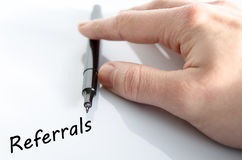 Referrals Royalty Free Stock Photos