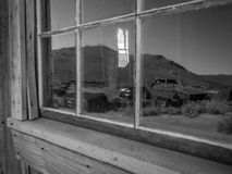 Reflections of Bodie Stock Photo