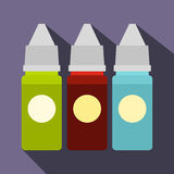 Refill bottles icon, flat style Royalty Free Stock Photo