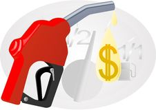 Refill with gasoline Stock Image
