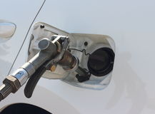 Refilling the car Royalty Free Stock Image