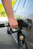 Refilling the car with fuel Royalty Free Stock Photos