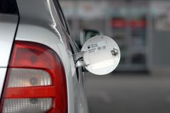 Refilling Car Royalty Free Stock Photography
