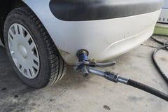 Refilling samochód Obraz Stock