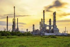 refinaria Foto de Stock Royalty Free