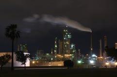 Refinaria da gasolina Foto de Stock Royalty Free