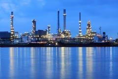 Refinaria de petróleo Imagem de Stock Royalty Free