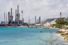 Refinaria de petróleo Imagens de Stock Royalty Free