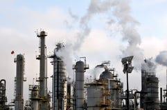 Refinaria de petróleo III fotos de stock