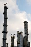 Refinaria de petróleo IV imagem de stock royalty free