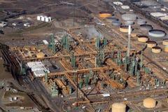 Refinaria de petróleo Foto de Stock