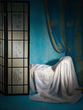 Refined boudoir interior Stock Photography