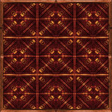 Refined Geometric Pattern Stock Photography