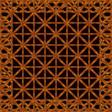 Refined Ornament Wood Artwork Royalty Free Stock Images