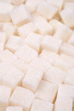 Refined sugar close up Stock Photography