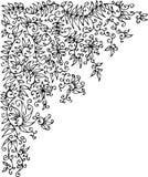 Refined vignette. Eau-forte illustration royalty free illustration