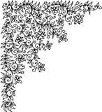 Refined vignette XIX. Refined vignette. Eau-forte illustration royalty free illustration