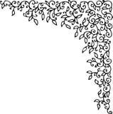 Refined vignette XLI. Refined vignette. Eau-forte illustration vector illustration