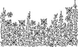 Refined vignette XXVI. Refined vignette. Eau-forte illustration vector illustration