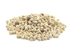 Refined white fragrant pepper Stock Photography